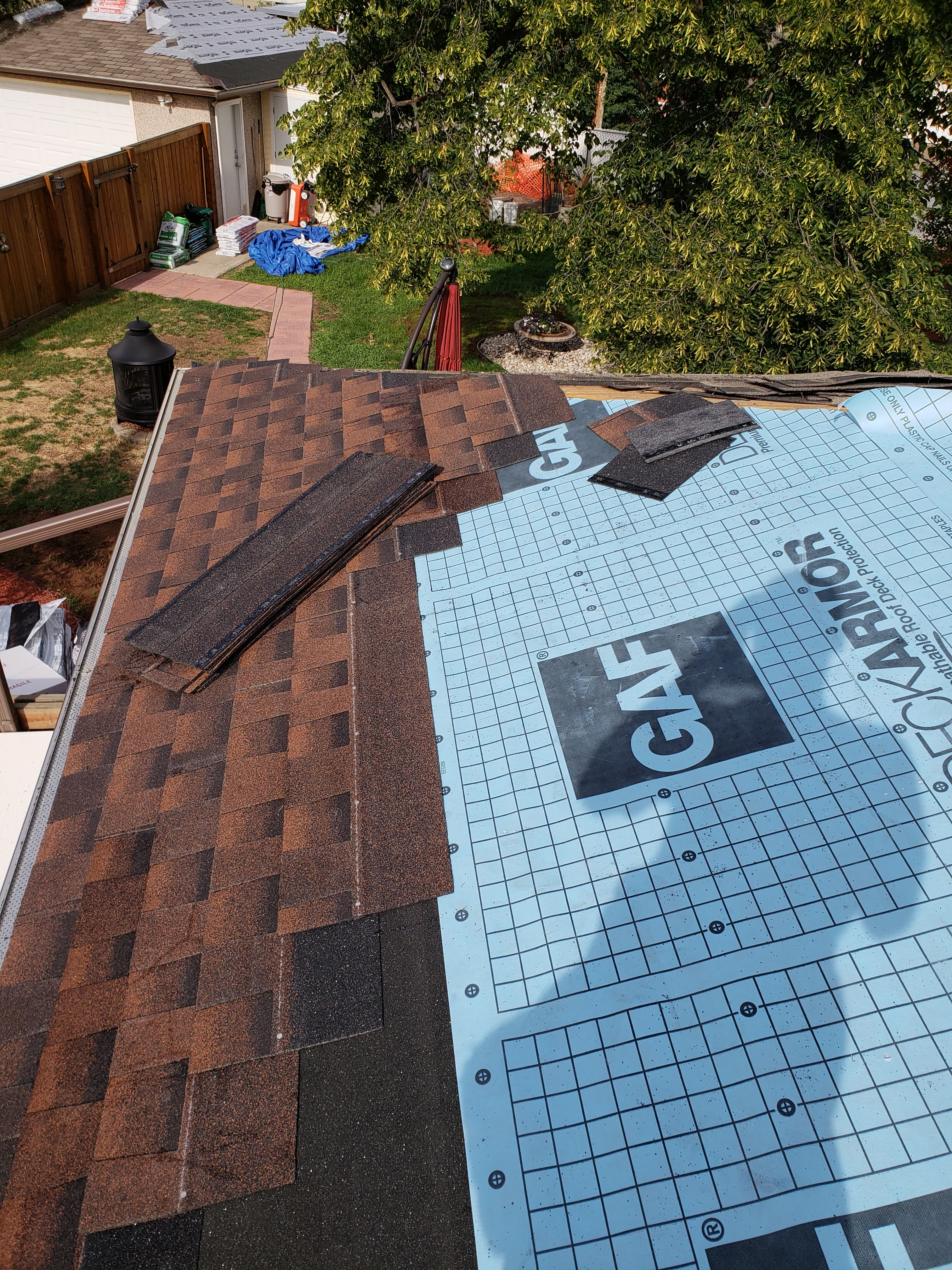 Roof installation in Edmonton