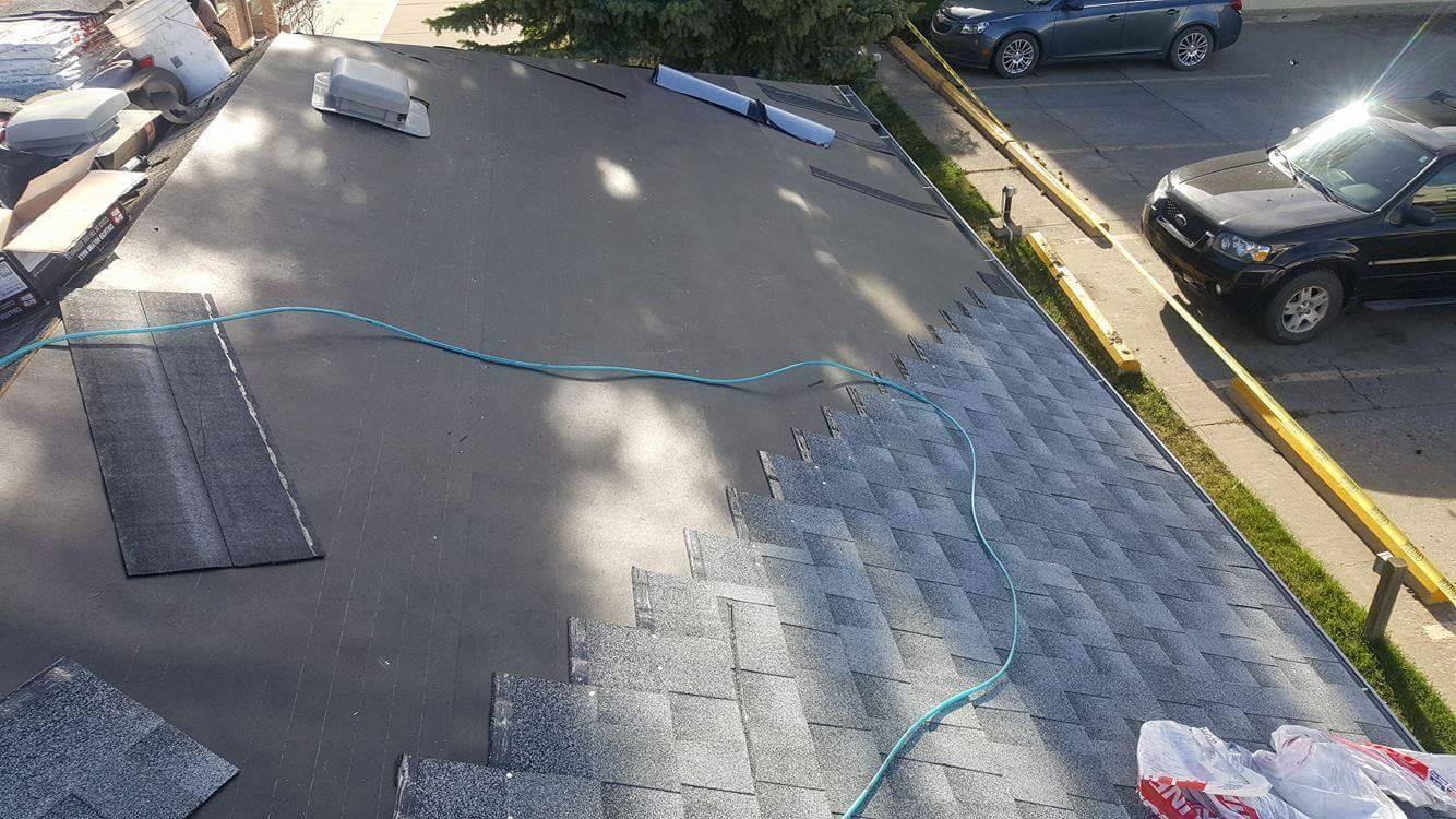 roof installation in St albert