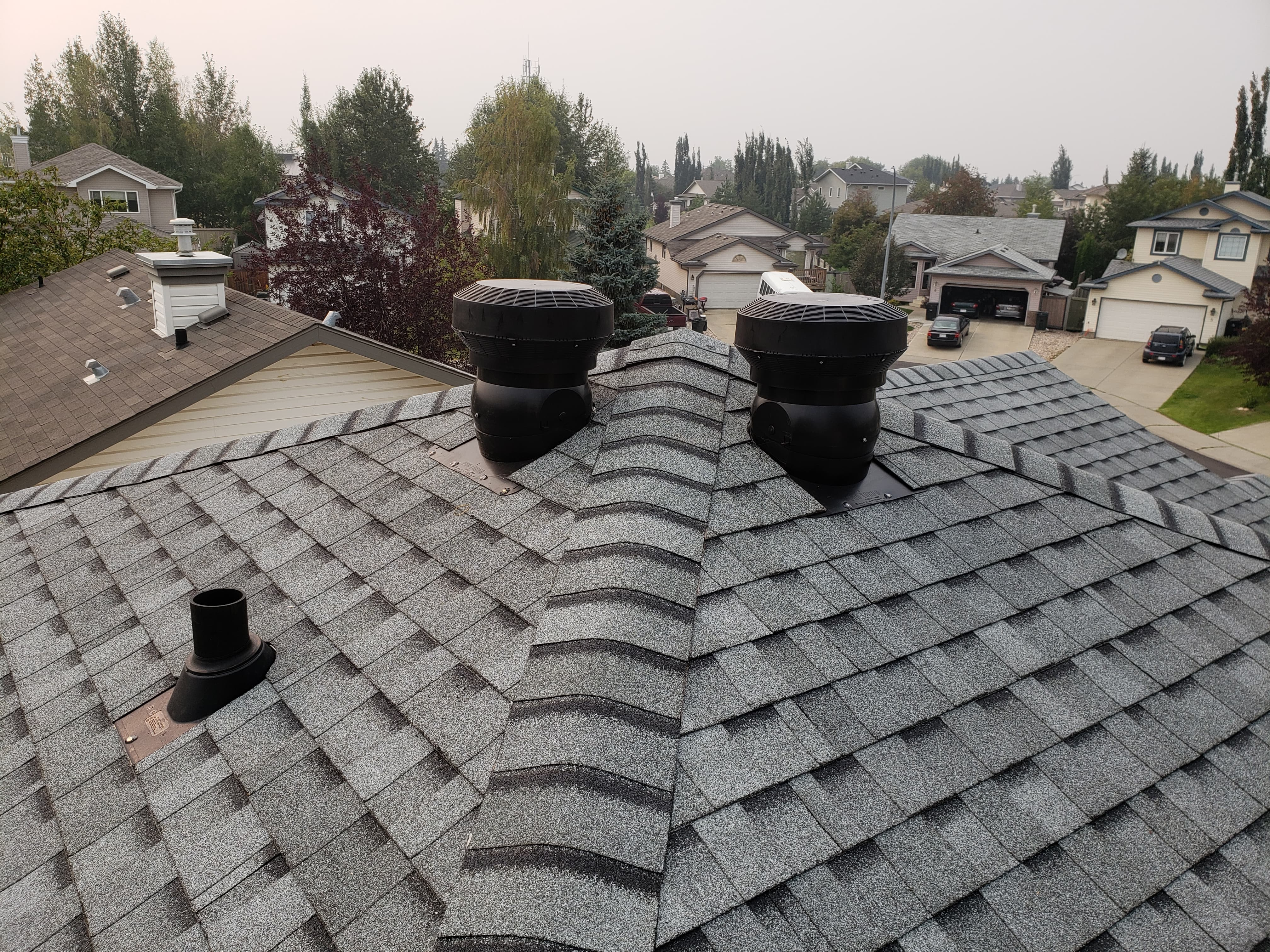 Roof replacement in Edmonton
