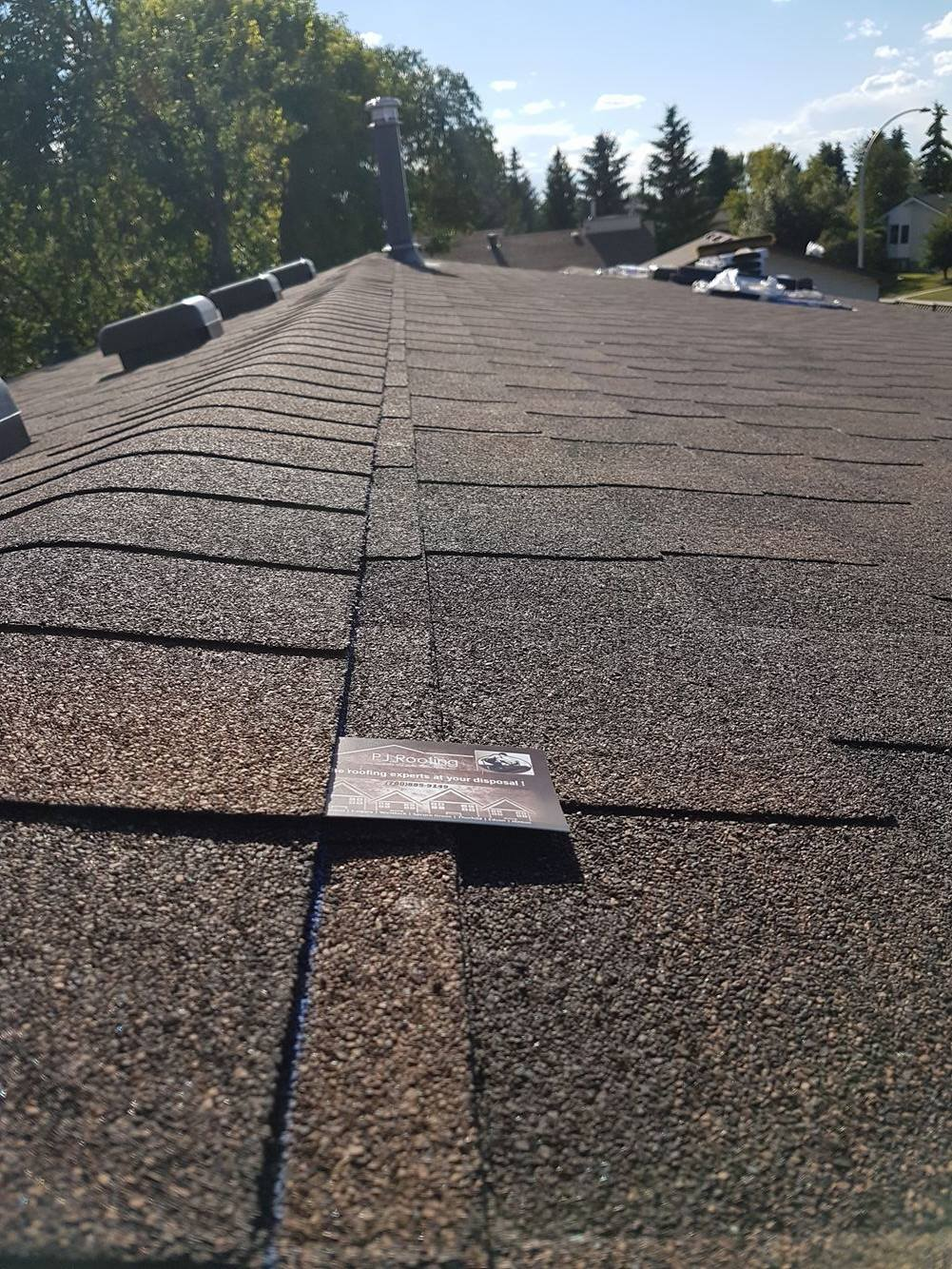 roof replacement in Leduc