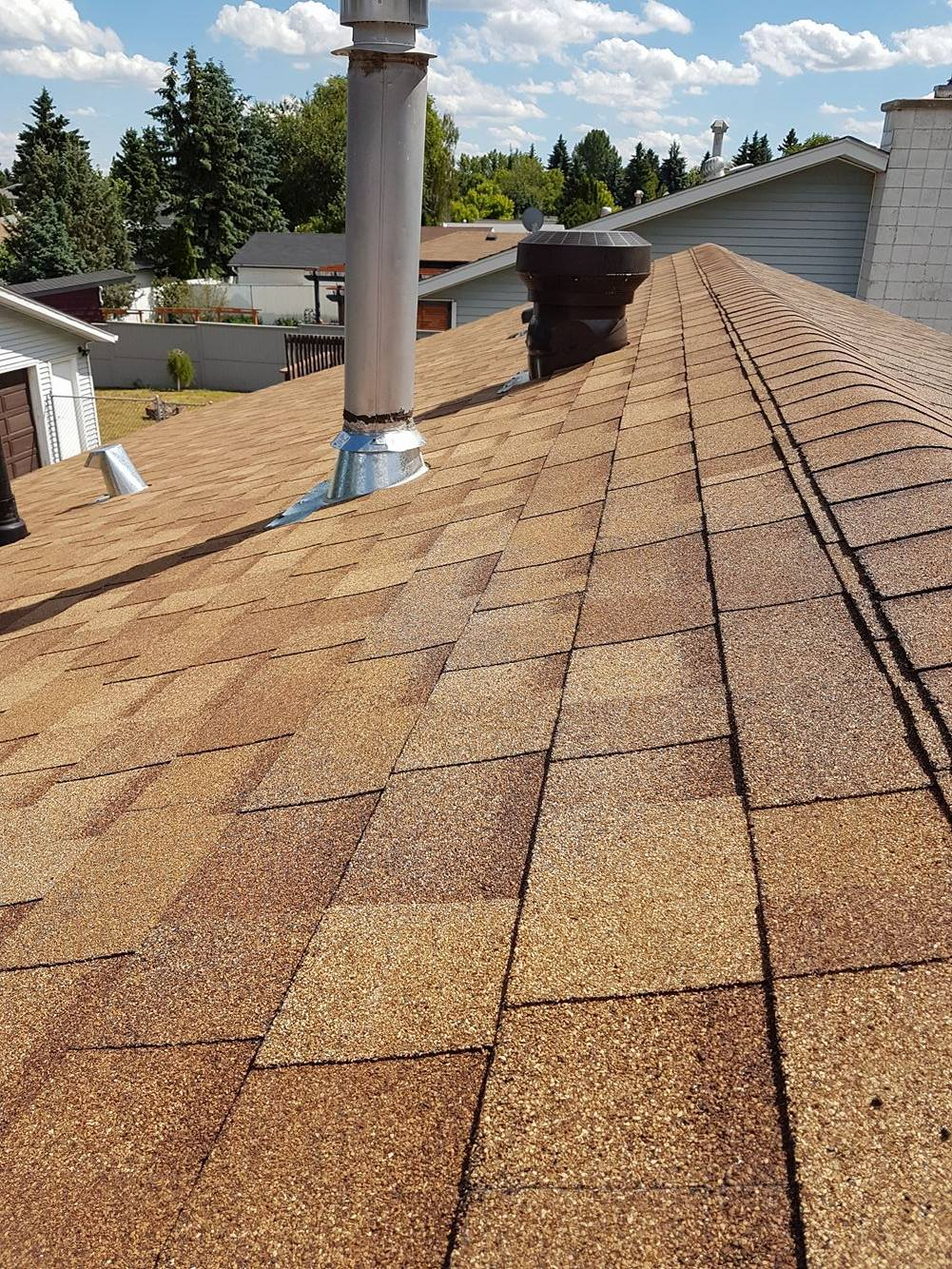 roof replacement Sherwood park