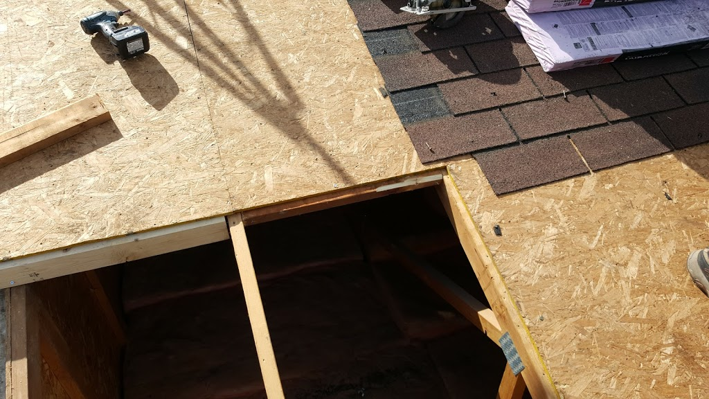 Roof framing repair